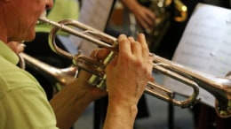 New Horizons Band Trumpet Player