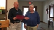 Bud Sales Gift of Kiwanis Award