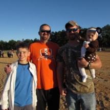 Cody & Jeremy Lowder with Justin & Addison Cole