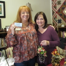 Sisters Kelly Bousquet & Wendy Hippe