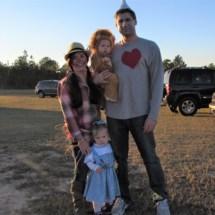 Terrie, Isabella, Elijah, & Troy Preacher