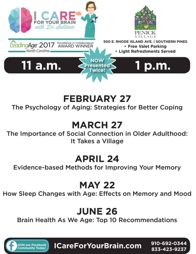 Free Brain Health Lectures