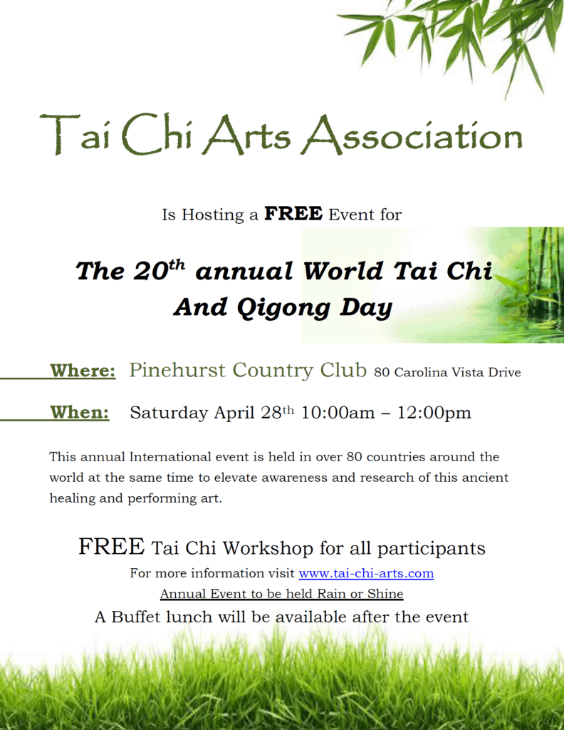 World Tai Chi and Quigong Day