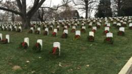 wreath cemetery
