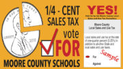 Vote for Moore County Schools Tax