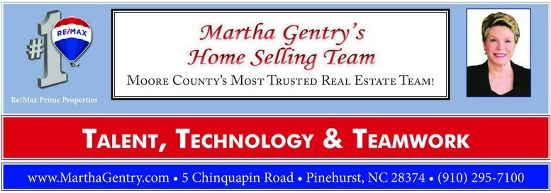 Martha Gentry Home Selling Team Ad