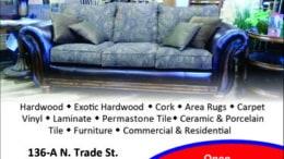 Tracy's Carpet Ad