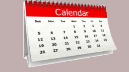 SLLA Meeting Schedule